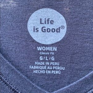 Life Is Good Tops - Life Is Good tee